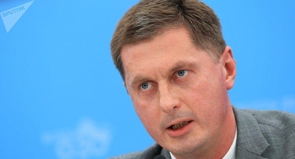 Dmitry Feoktistov, actual embajador de la Federación de Rusia en Argentina