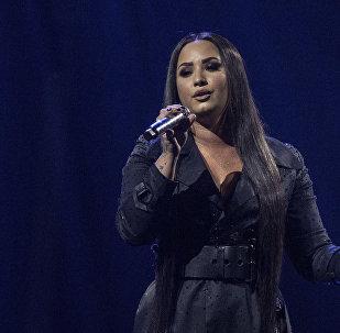 Demi Lovato, cantante estadounidense