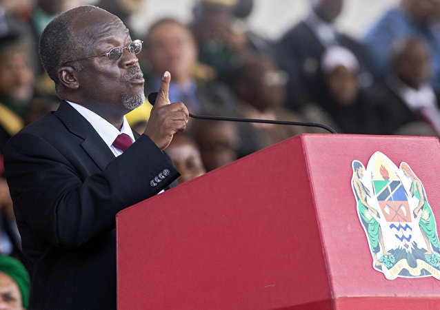 John Magufuli, presidente de Tanzania (archivo)