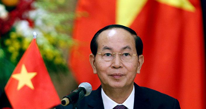 Tran Dai Quang, el presidente de Vietnam