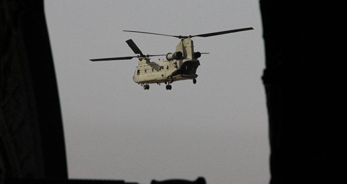 Un helicóptero Chinook (imagen referencial)