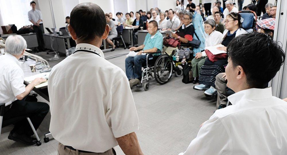 Kita Saburo, víctima de esterilización