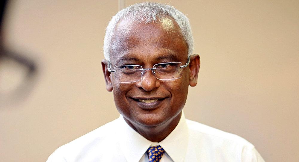 Ibrahim Mohamed Solih, ganador de las elecciones presidenciales en Maldivas