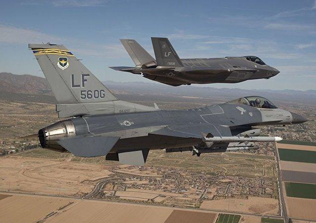 F-16 y F-35