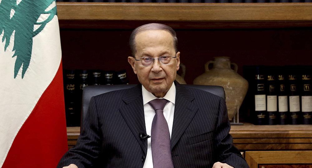 El presidente del Líbano, Michel Aoun