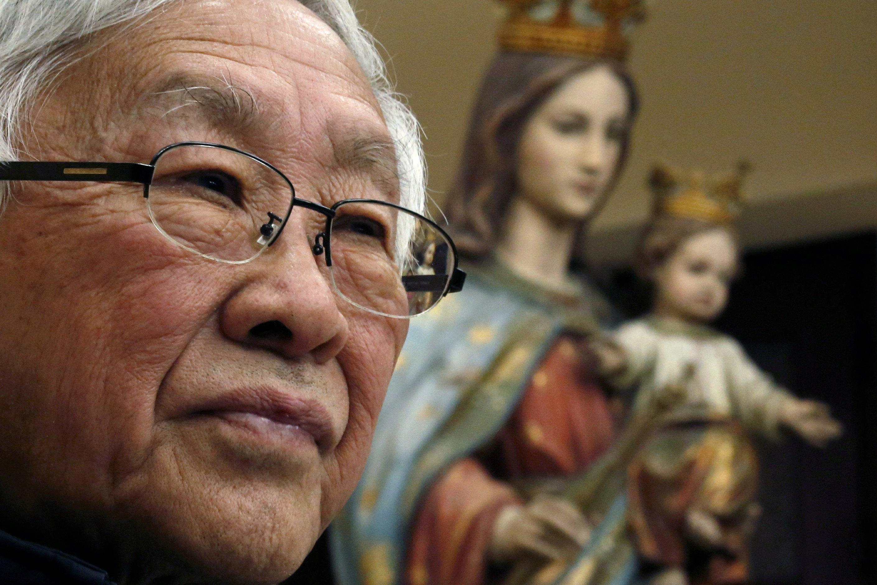 El cardenal Joseph Zen Ze-kiun, obispo de Hong Kong desde 2002 a 2009
