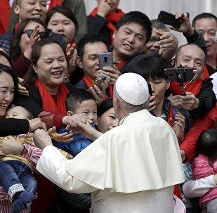 El papa Francisco en China
