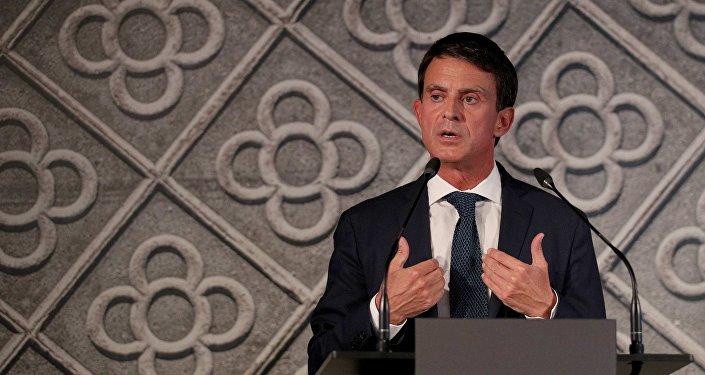 Manuel Valls, el ex primer ministro francés