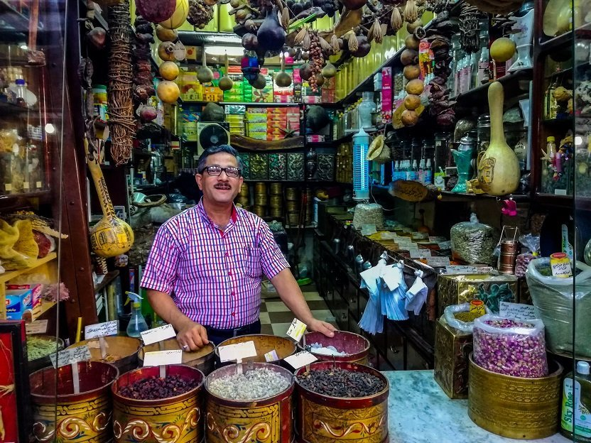Un mercado en Damasco