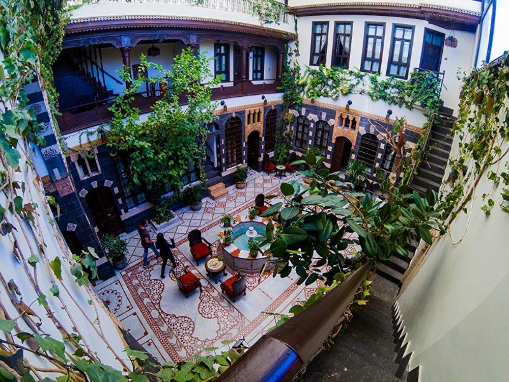 Un hotel en Damasco