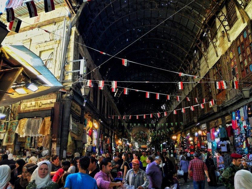 Una noche en Damasco