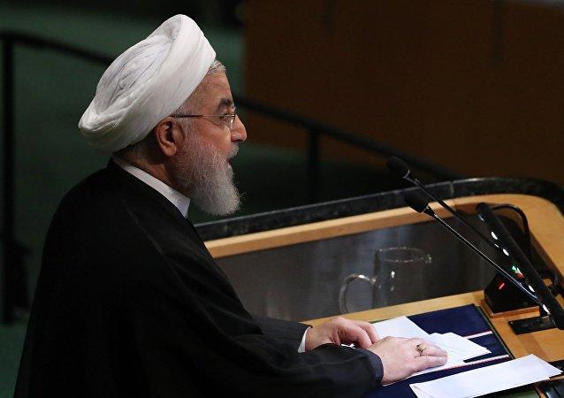 Hasán Rohaní, presidente de Irán