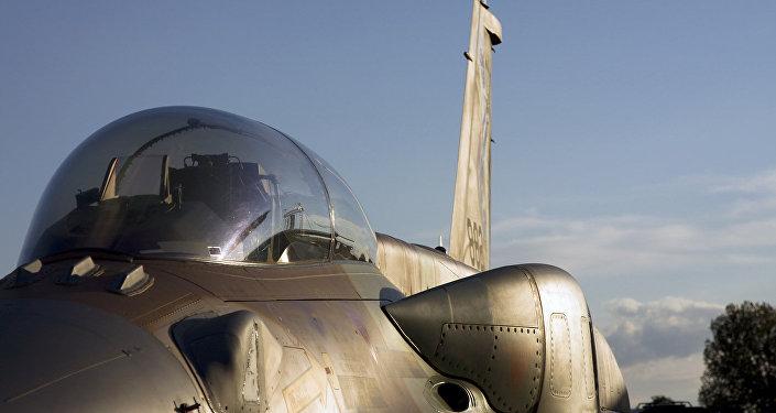 Un caza F-16I de las Fuerzas Aéreas de Israel