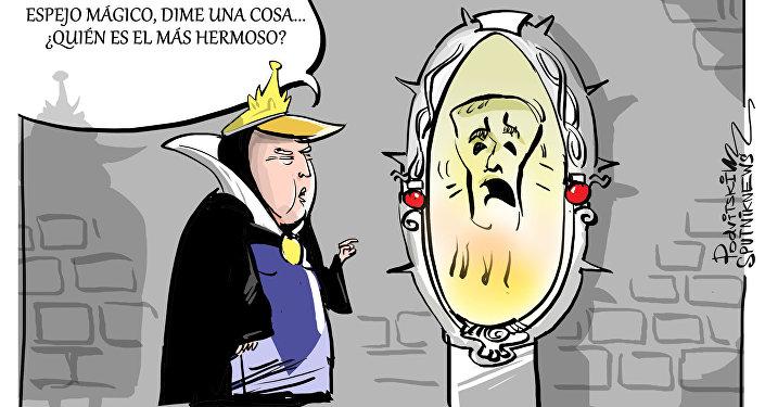 Espejito, espejito: la ONU se ríe del discurso 'egoísta' de Trump