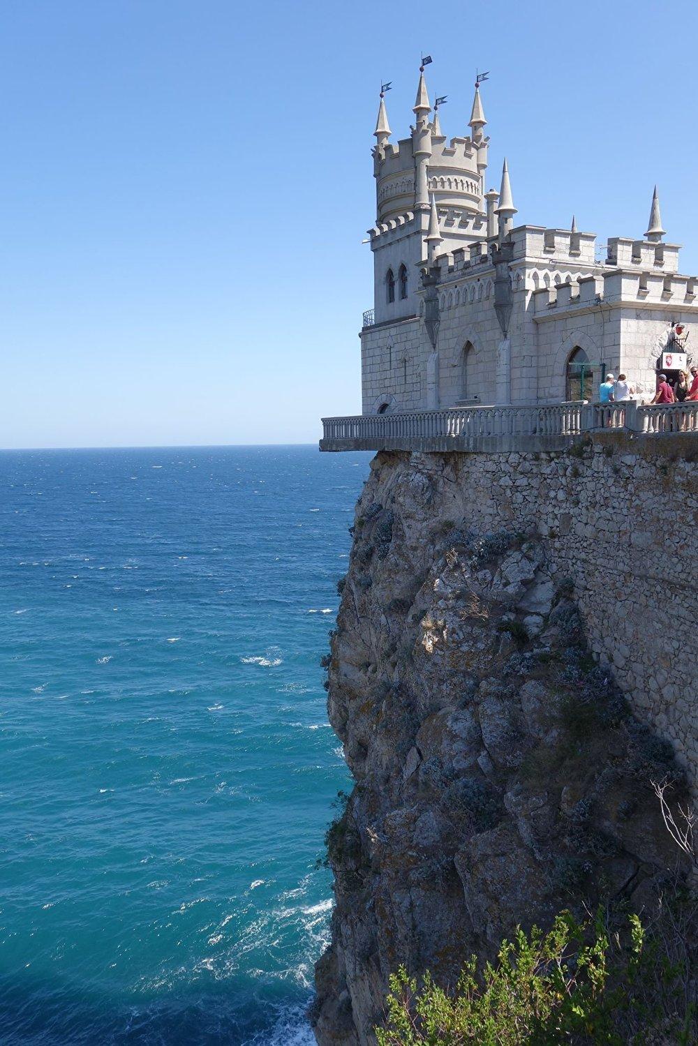El viaje de los hermanos Deshayes a Crimea, Yalta