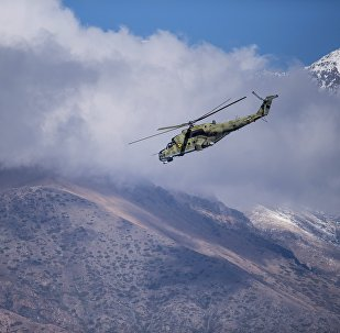 Un helicóptero Mi-35M