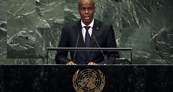 Jovenel Moise, presidente de Haití en la Asamblea General de la ONU
