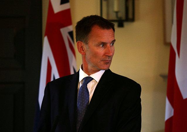 Jeremy Hunt, ministro de Exteriores del Reino Unido