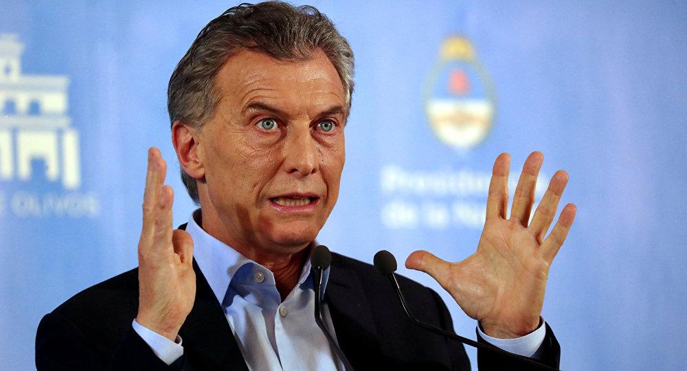 El presidente de Argentina, Mauricio Macri (archivo)