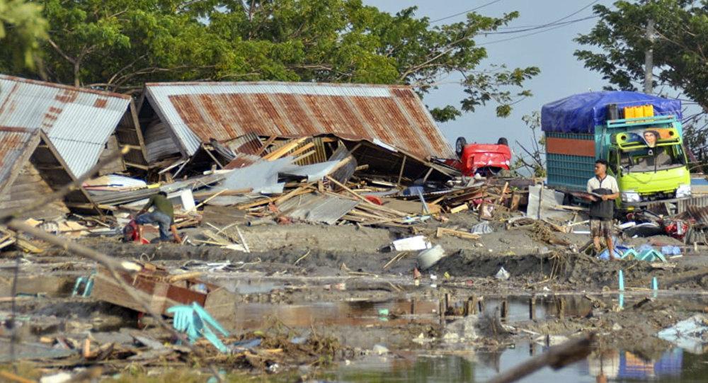 Devastación en Indonesia