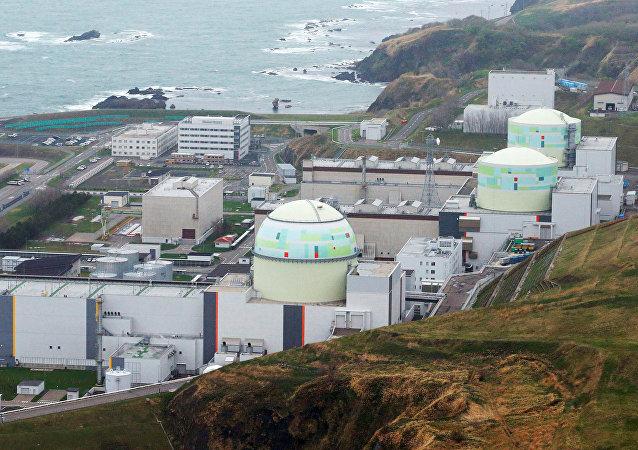 Una central de energía nuclear en Japón, imagen referencial