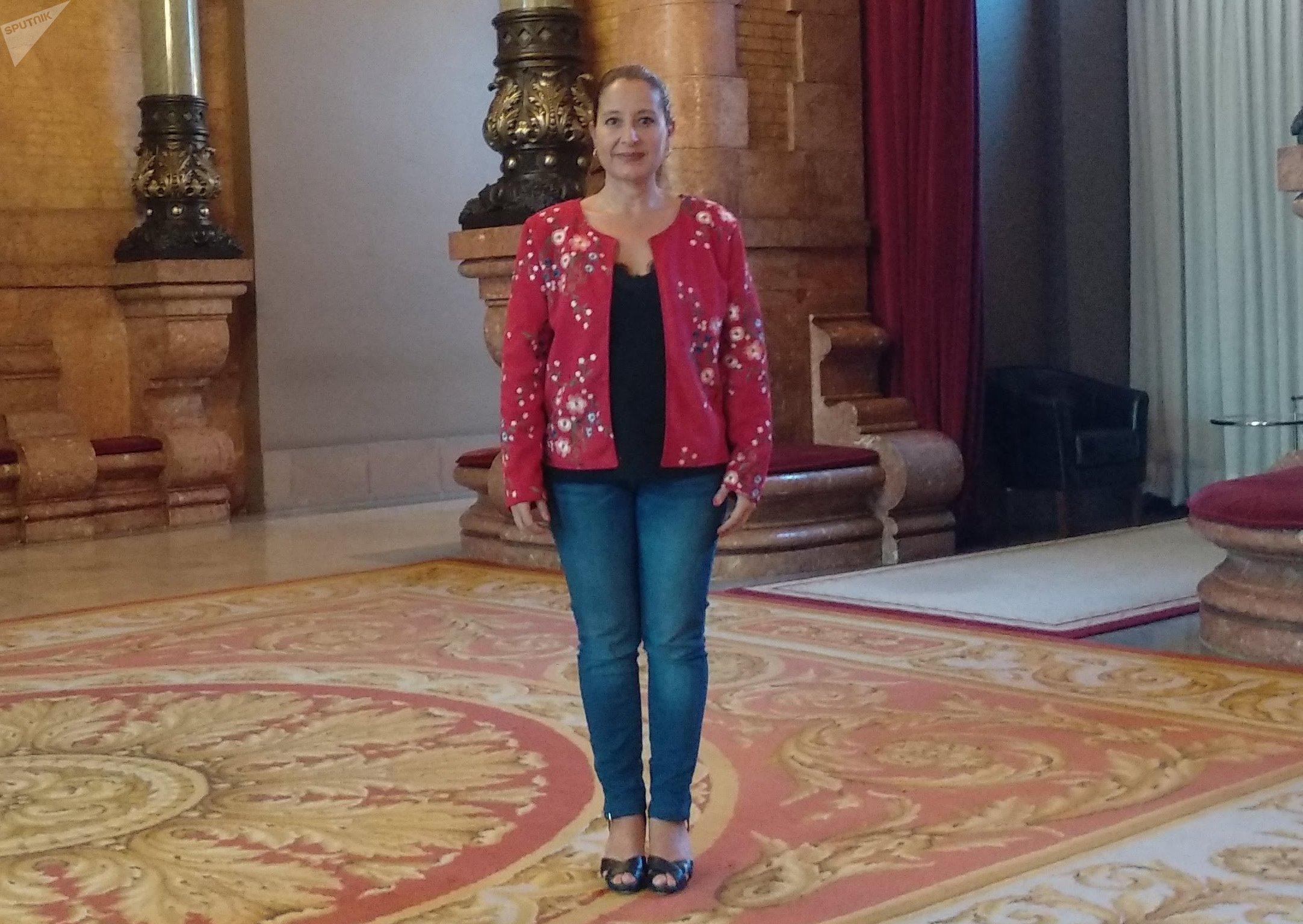 La diputada de Ciudadanos Sonia Sierra