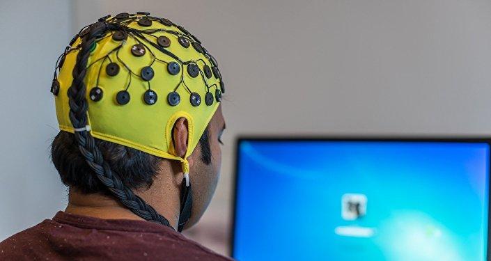 Electroencefalografía (ilustración)