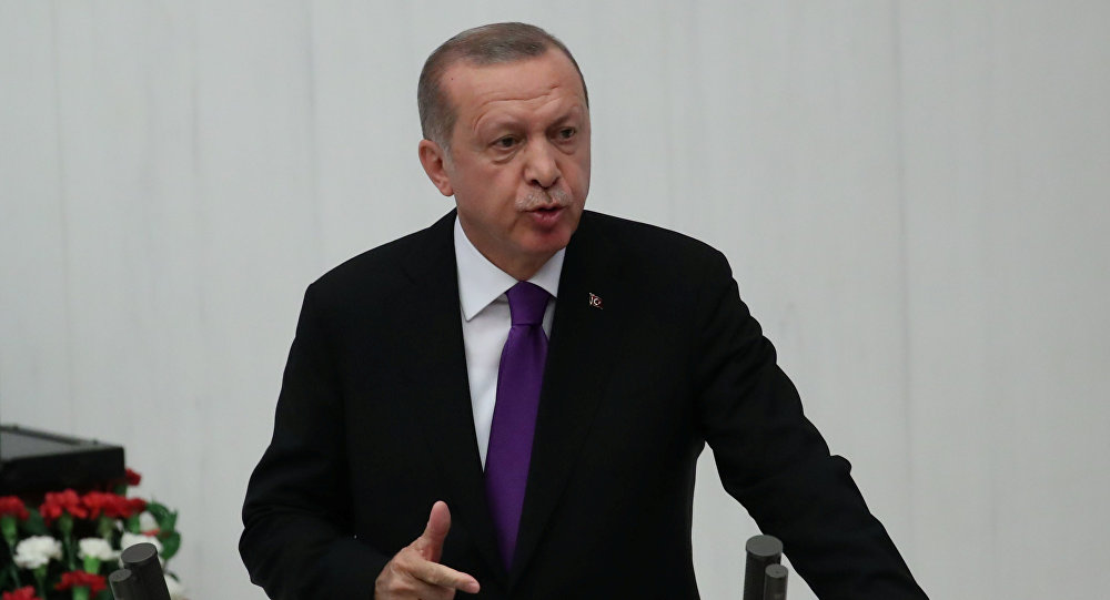 Recep Tayyip Erdogan, presidente de Turquía