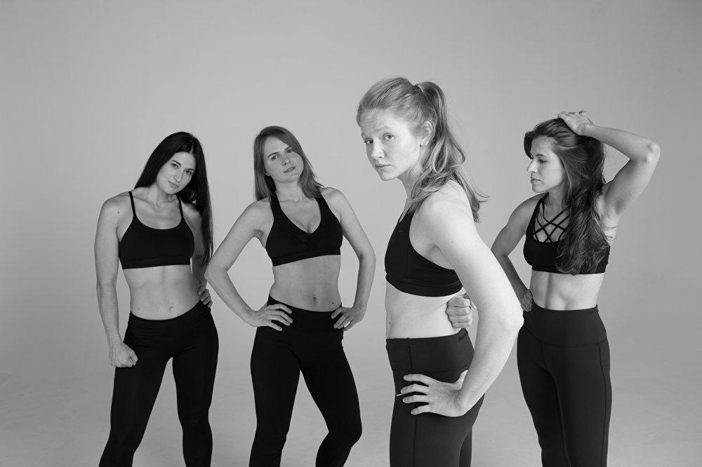 A pesar de que en el vídeo aparecen mujeres de contextura física similar, el mensaje principal de la campaña promociona la variedad de tallas.