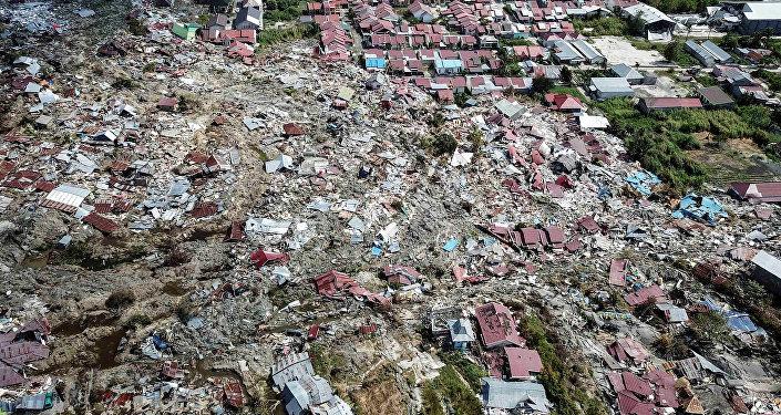 Consecuencias de Tsunami en Indonesia