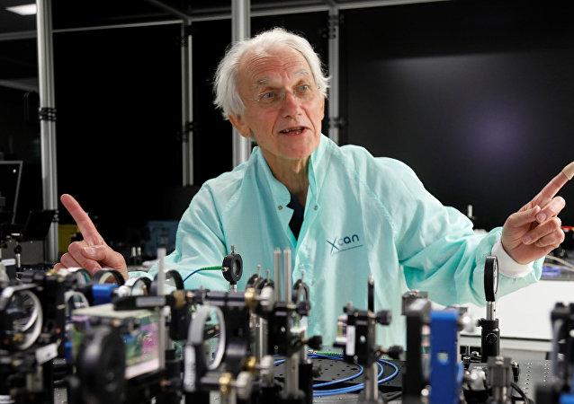 Gerard Mourou, ganador del Premio Nobel de Física