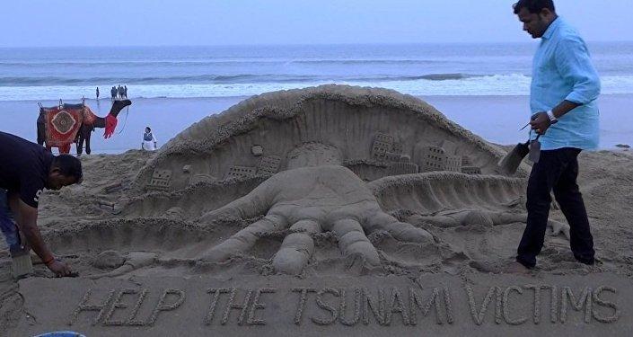 Llaman a 'echar una mano' a las víctimas del mortal tsunami en Indonesia