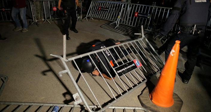 Los disturbios en Cataluña tras las manifestaciones del 1-O