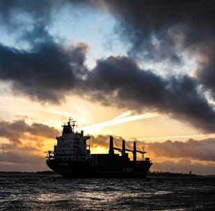 Un buque en el mar (imagen referencial)