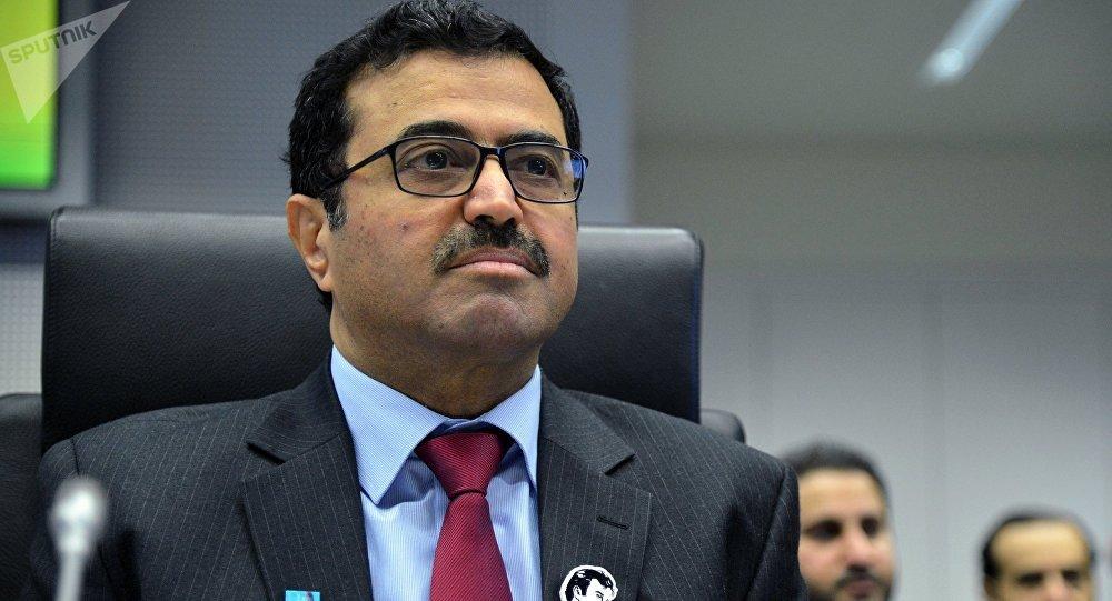 Ministro de Energía e Industria de Catar, Mohammed Saleh Sada (archivo)