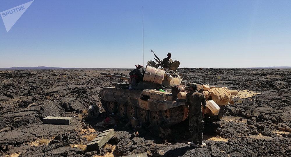 El Ejército sirio logró arrebatar a los terroristas sus reservas de agua fresca en el desierto de Suwaida
