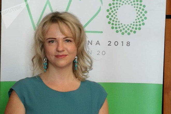 Svetlana Lukash, asesora gubernamental de Rusia en el W20