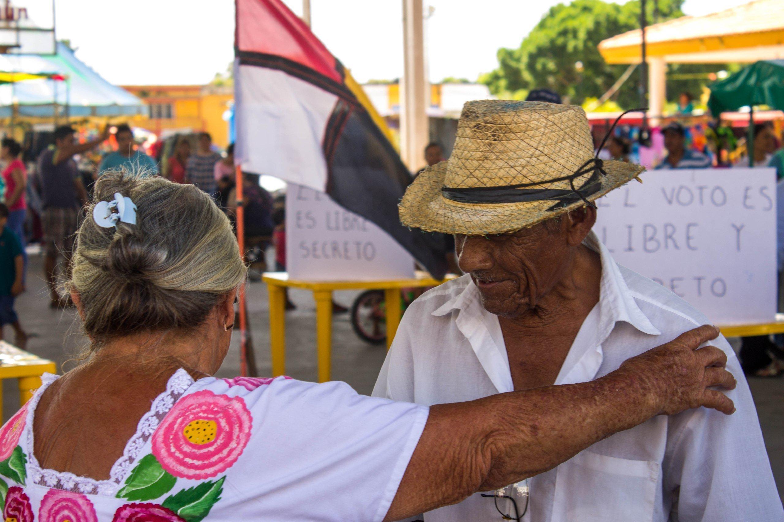 Consulta pública en Homún, Yucatán