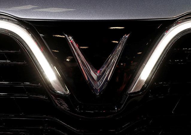 Logo de los autos vietnamitas VinFast