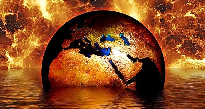 Cambio climático, imagen referencial