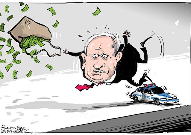 Netanyahu, en la mira de la Policía israelí
