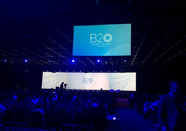 Foro de Business 20 (B20) en Buenos Aires