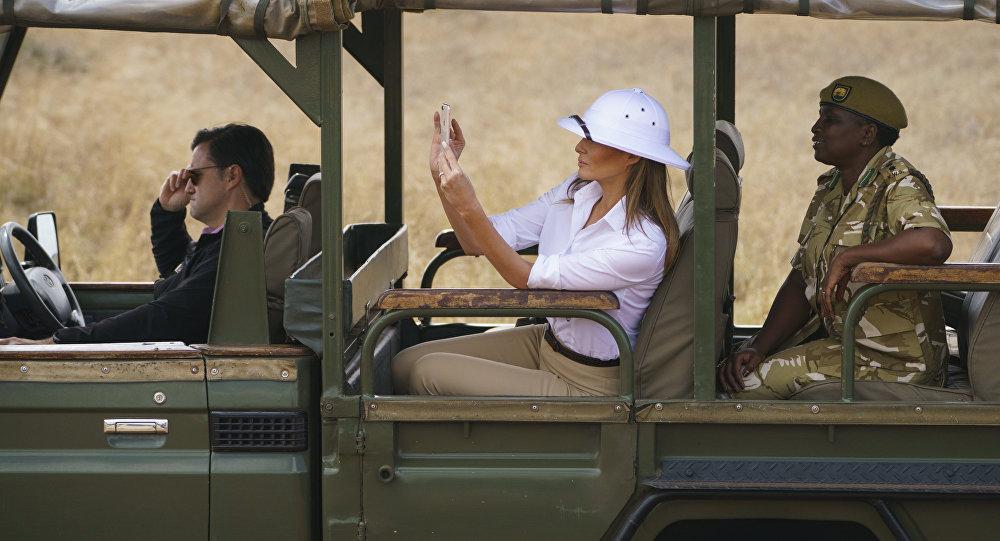 Melania Trump, la primera dama de EEUU