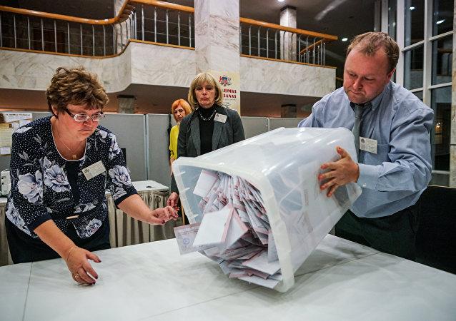 Elecciones parlamentarias en Letonia