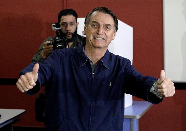 Jair Bolsonaro, candidato a la Presidencia de Brasil (archivo)