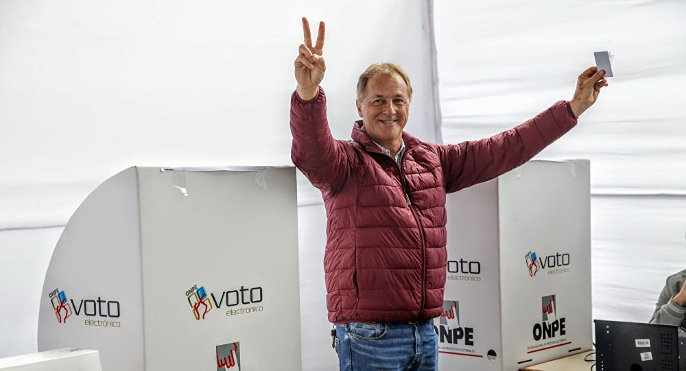 Jorge Muñoz, candidato del partido Acción Popular