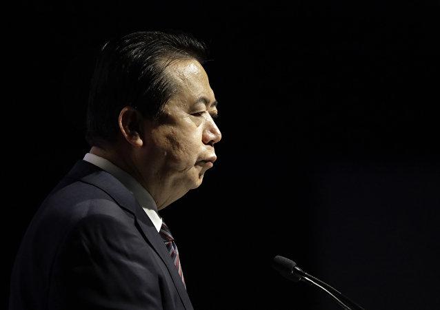 Meng Hongwei, exjefe de Interpol