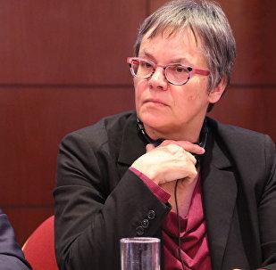 Liliane Maury Pasquier, la presidenta de la Asamblea Parlamentaria del Consejo de Europa (PACE) (archivo)