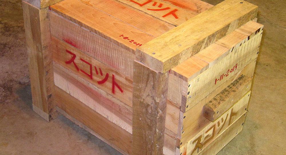 Cajón de madera, foto archivo