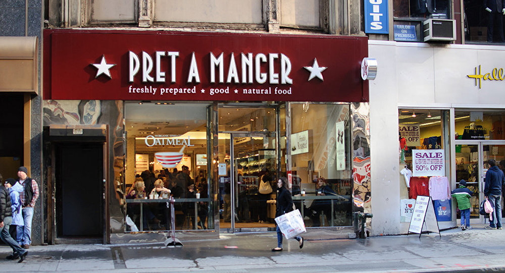 Un local de Pret a Manger